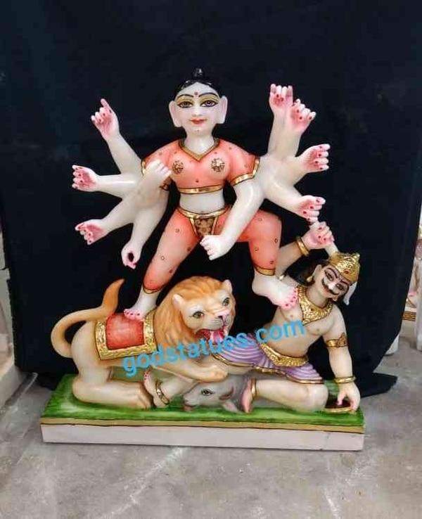 Mahishasura mardini statu