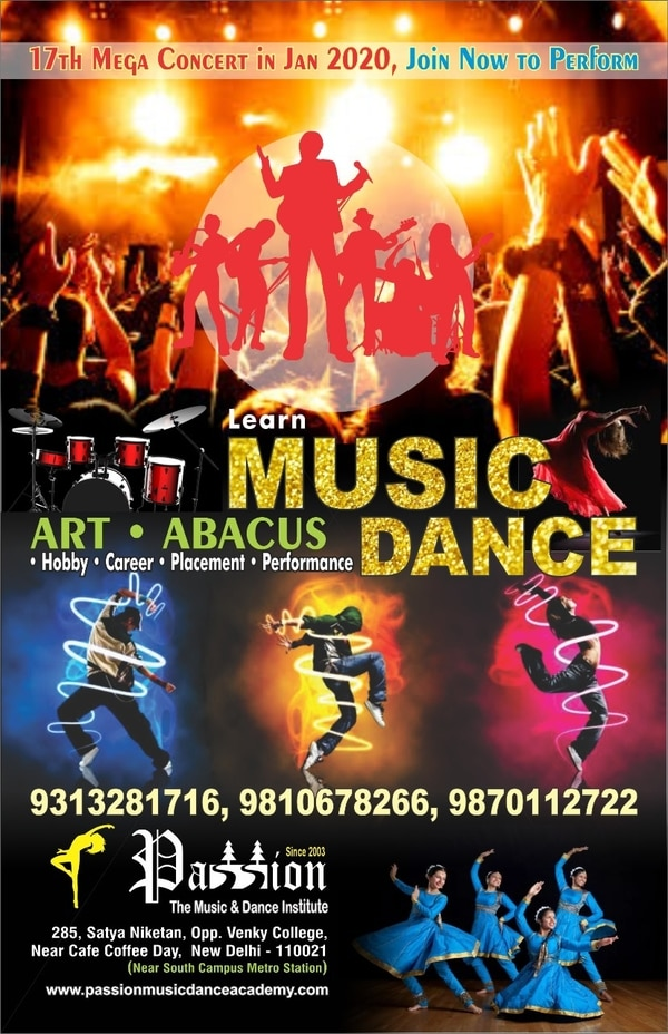 Best Music and Dance classes A