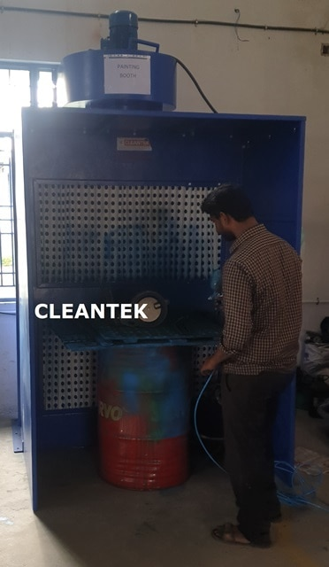 Painting Booth: Cleantek manuf