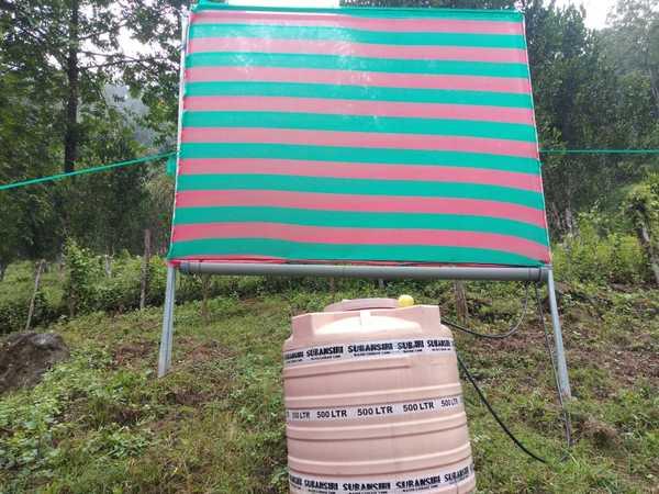 Water Harvesting Project at Krishi Vigyan Kendra Papumpare, Arunachal Pradesh Financial & Technical Support by SASMIRA. Any Clarification please contact Mr Ajay Kumar +91 7044005056