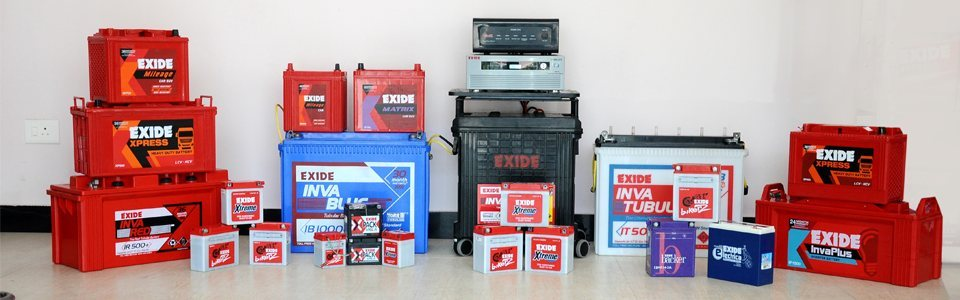 Exide Battery dealers in the c