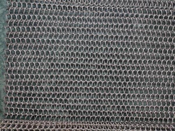 Wire Mesh SS conveyor Belts, SS mesh conveyor belt, Steel mesh belts