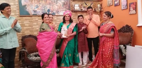 Ghaniwala associated with CHANNEL in SANMAN GRUHALAXMICHA......