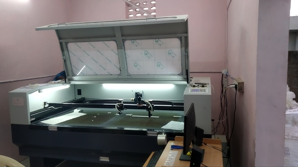 Laser Cutting Machine Dual Hea