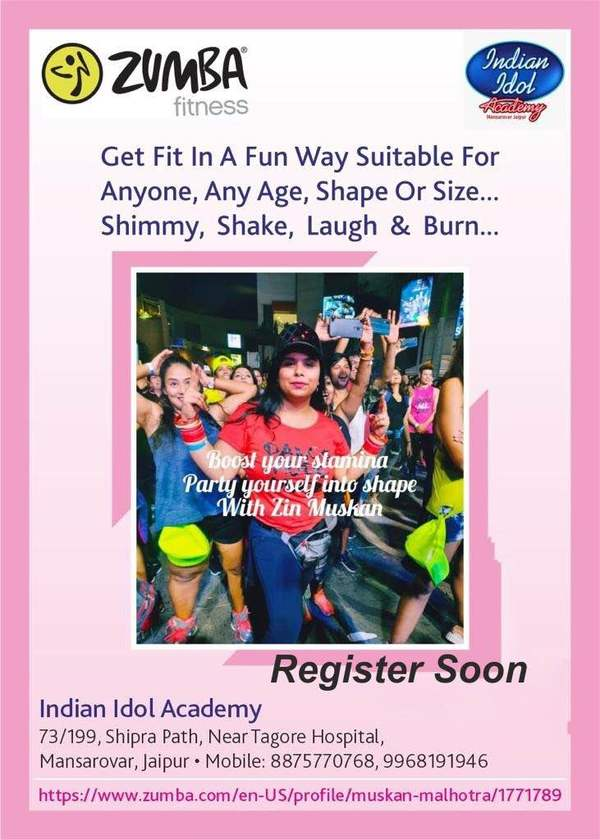 Be ready to get fit with Zumba
