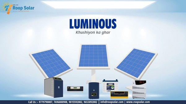 The working of a home solar sy