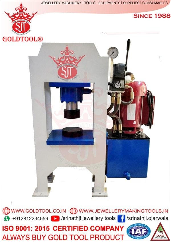 gold tool hydraulic press mach