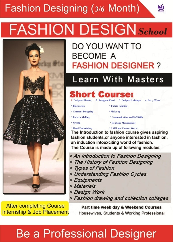 Learn Garment Fashion D Nidt School Of Creativity Design In Nagpur India