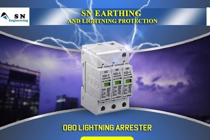SN EARTHING AND LIGHTNING ARRESTERSURGE PROTECTION DEVICEDIGITAL EARTHINHLIGHTNING ESE LAEARTHING