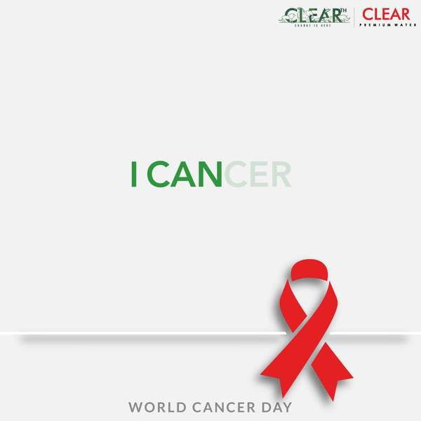 World Cancer Day helps us think consciously, make better lifestyle choices and show compassion to all the #fighters . #WeCanAndWeWill #worldcancerday #cancerday #fightcancer #clearpani #panihotohclear #clearwater #clearth #environmentallyfriendly #biodegradable