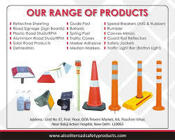 Road Saftey Products ManufacturersRoad Saftey Products SuppliersWe are leading manufacturers and supplier of road safety prrducts like- Road studs, Plastic road studs, Aluminium Road Studs. Solar Road Studs, Solar led street lights and more.