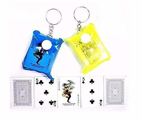 Mini Playing Cards Keychain  T