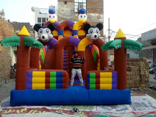 Micky Mouse Bouncy Castle We a