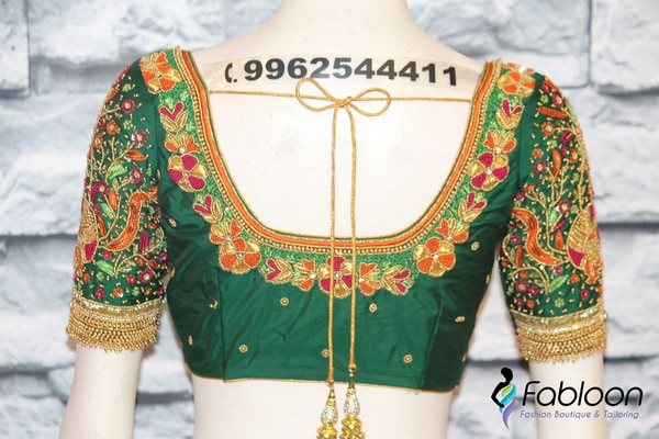 Embroidery Blouses | Book Now: