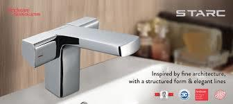 Starc Central Hole Basin Mixture from HindwareLatest Faucet collectionsTaps and Faucet
