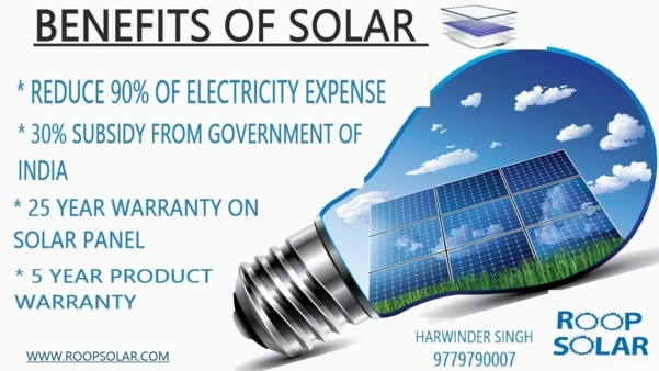BENEFITS OF SOLAR : Reduce the