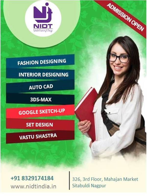 Nidt Nagpur Is A Fastes Nidt School Of Creativity Design In Nagpur India