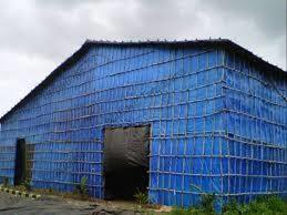 We have all the modern facilities that help us in rendering quality services to our customers. We provide Monsoon Sheds | Tarpaulins | Industrial Tarpaulin | HDPE Tarpaulin