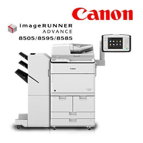 Canon Monochrome PrinterR.S.Marketing and Logistics are the best Dealer in South India for Canon.Features:1. Monochrome light production printer / copier2. Standard Picture Login3. Intelligent Recovery with motion sensors4. Skip Blank Page5. iR -ADV 8505 series offer different speed licenses