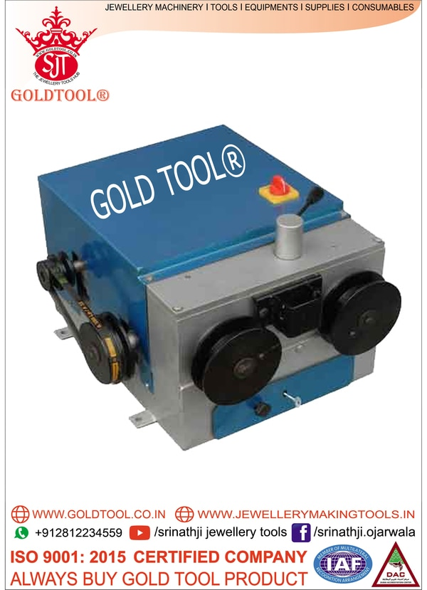GOLD TOOL ® WIRE DRAWING MACHI