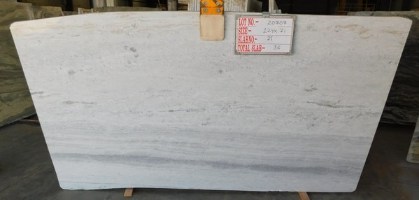 White has its own charm and when it is Marble it becomes more attractive. Yes we are talking about the Fantasy White Marble Slabs. Cut in 3 cm thickness and ready for dispatch to United States. The color has gained exceptional popularity in last 1-2 years. Do let us know for any inquiries. We deal in Fantasy Brown Marble slabs, Fantasy White Marble/ Ice White Marble Slabs. River Blue Marble etc. Also In Granite we deal in Blue Dunes Granite both in Cutter as well as Gangsaw Size Materials, Ash Black or Rajasthan Black Granite, Brazil Brown Granite etc.