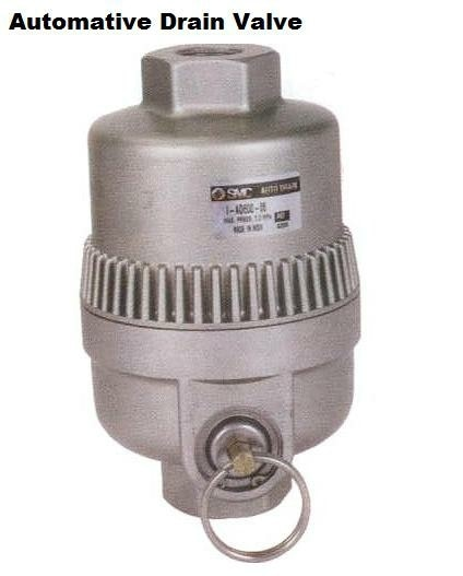 SMC Zero Air Loss Auto Drain Valves are not very expensive still very efficient. Save your costly Compressed Air fom getting drained while removing water from bottom of Air Receiver Tanks, or Pipe Line.