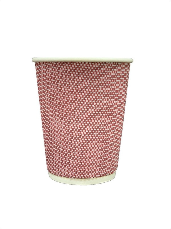 ripple cup  disposable paper c