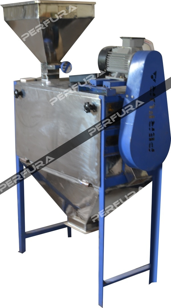 Perfura - Flour Sifter - FS 3250S & 1250SThis machine is used for screening the grinded flour(s) into two different grades. There are separate outlets for coarse and fine flour in this machine. With the help of the stainless steel mesh you can get uniform particle size.Model: FS 3250SFS 1250SCapacity: 250 kg/h Suitable for: All grinded floursPerfura Rotary Sifter Manufacturer in India Perfura Flour Sifter Manufacturer in Tamil Nadu Perfura Siever Manufacturer in CoimbatoreTo avail further discounts please contact:+91 98948 50009 | +91 (0)422 4534009 | sales@perfuratech.comPerfura Technologies (India) Private Limited | www.perfuratech.com | 7, Maruthamalai Gounder Lay Out, Ramakrishnapuram, Ganapathy, Coimbatore – 641006, Tamil Nadu, India
