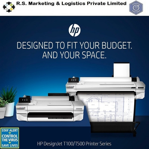 HP DESIGNJET T100 & T500 PRINTER SERIESR.S.Marketing and Logistics are the best Dealer in South India for HP Printers.The HP Quality you ExpectGet high-quality, high-speed printing on both small & large format print. Plus , deliver sharp, bold images for any applications with HP Bright office Inks.