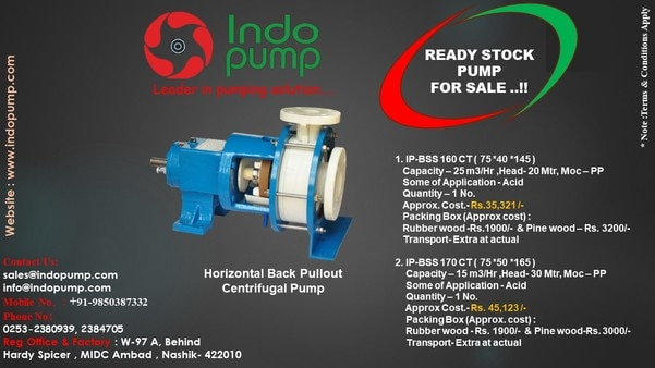 Ready  Stock  Pump FOR  SALE...!!!