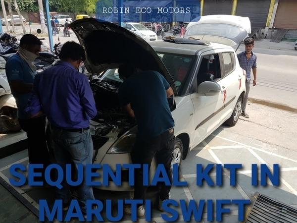 SEQUENTIAL CNG KIT FOR MARUTI