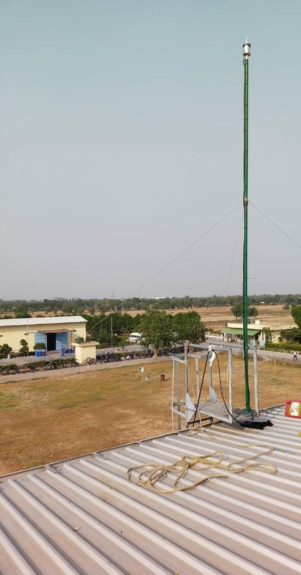 Installation of Lightning Protection