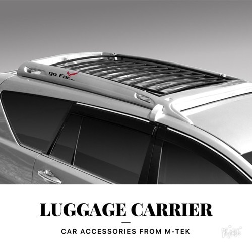 body coloured luggage carrier for maruti ertiga, t