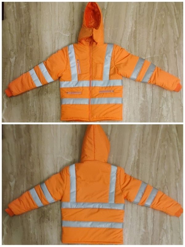Safety Woollen Jacket.  Design
