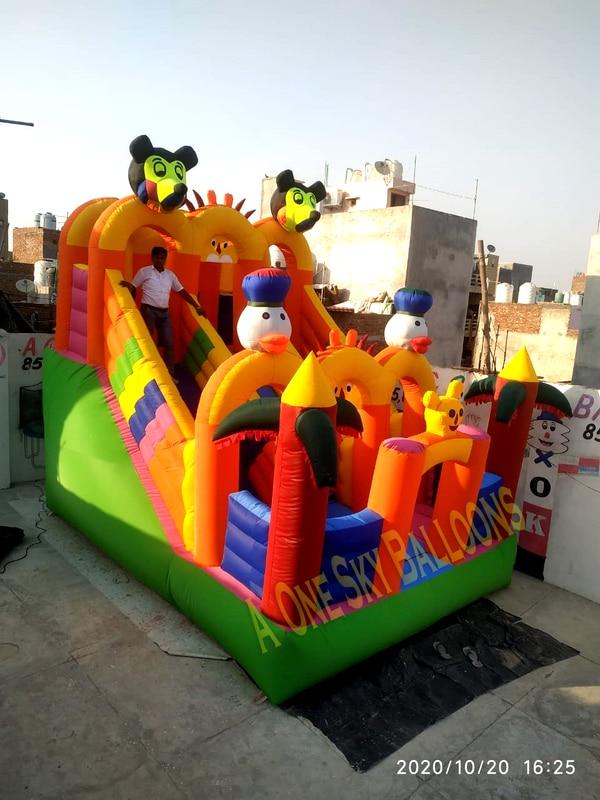 3 Lane Bouncy Mickey Mouse Cas