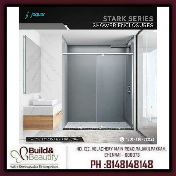 A shower enclosure built for beauty and elegance.