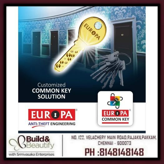 Europa Door Locks Presents Common Key - Key Manage