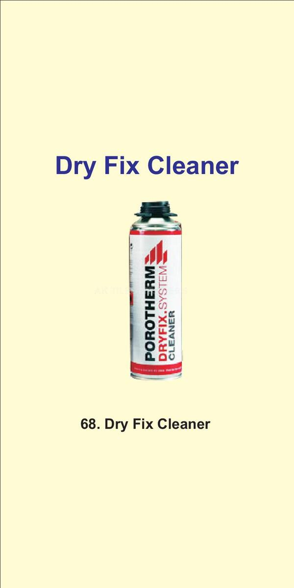 dry fix cleaner we are authorized No.1 dealer of