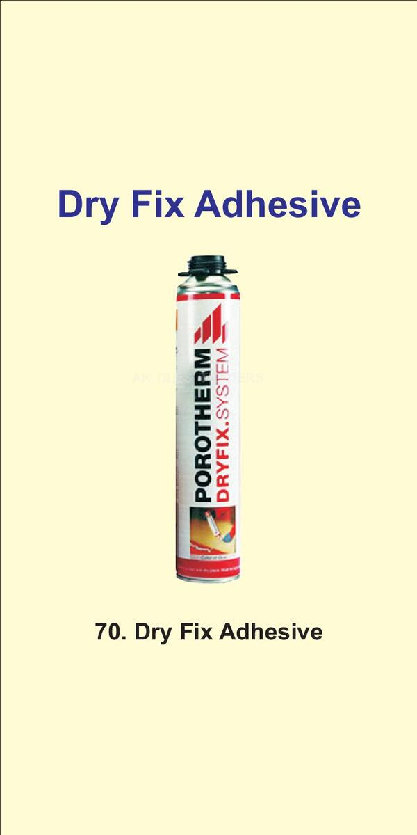 Dry fix adhesive we are 30 years old company in n