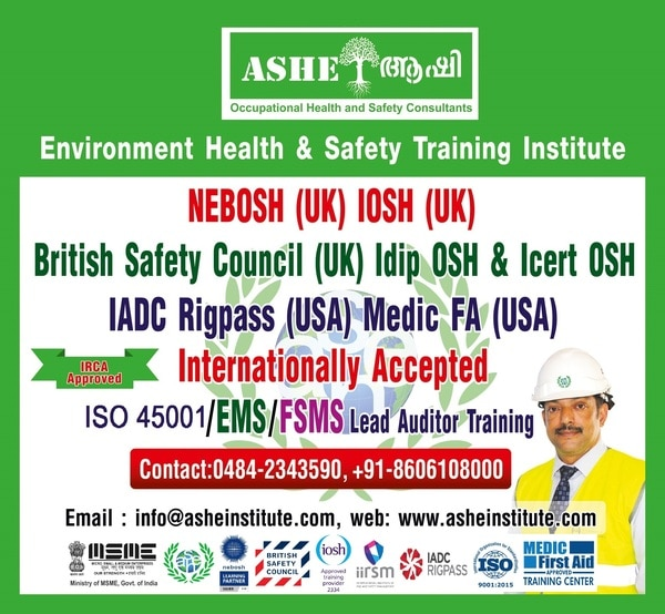 NEBOSH registration Open! New