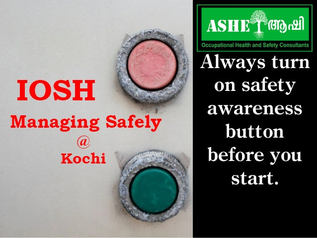 IOSH Managing Safely- a door s