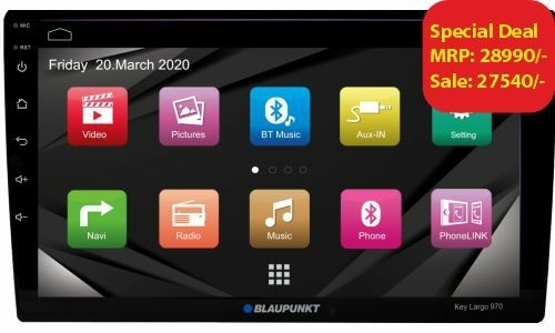 Blaunpunkt Android system with