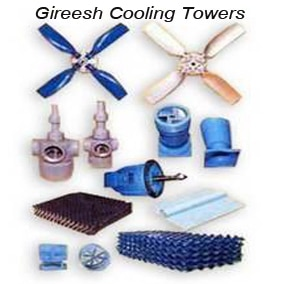 Manufacturer of Cooling Towers - SPARE PARTS FOR C
