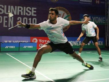 Indian badminton star Shlok Ra